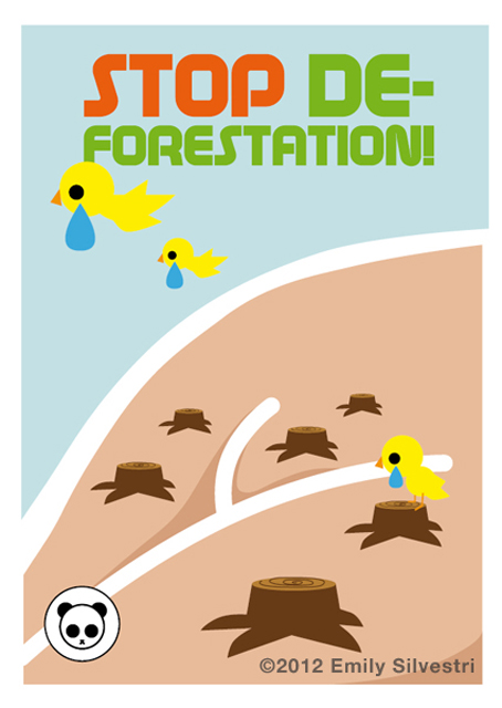 pag 10 Il Fuffidiario: Stop deforestation!
