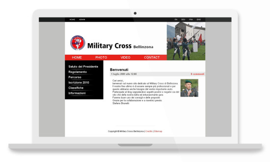 Military cross website